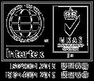 ISO14001、ISO9001認証マーク
